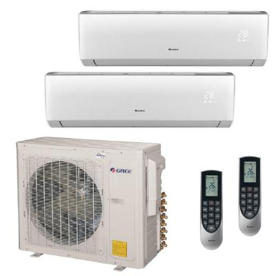 Multi-21 Zone 30,000 BTU 2.5 Ton Ductless Mini Split Air Conditioner with Heat, Inverter, Remote - 230-Volt/60Hz